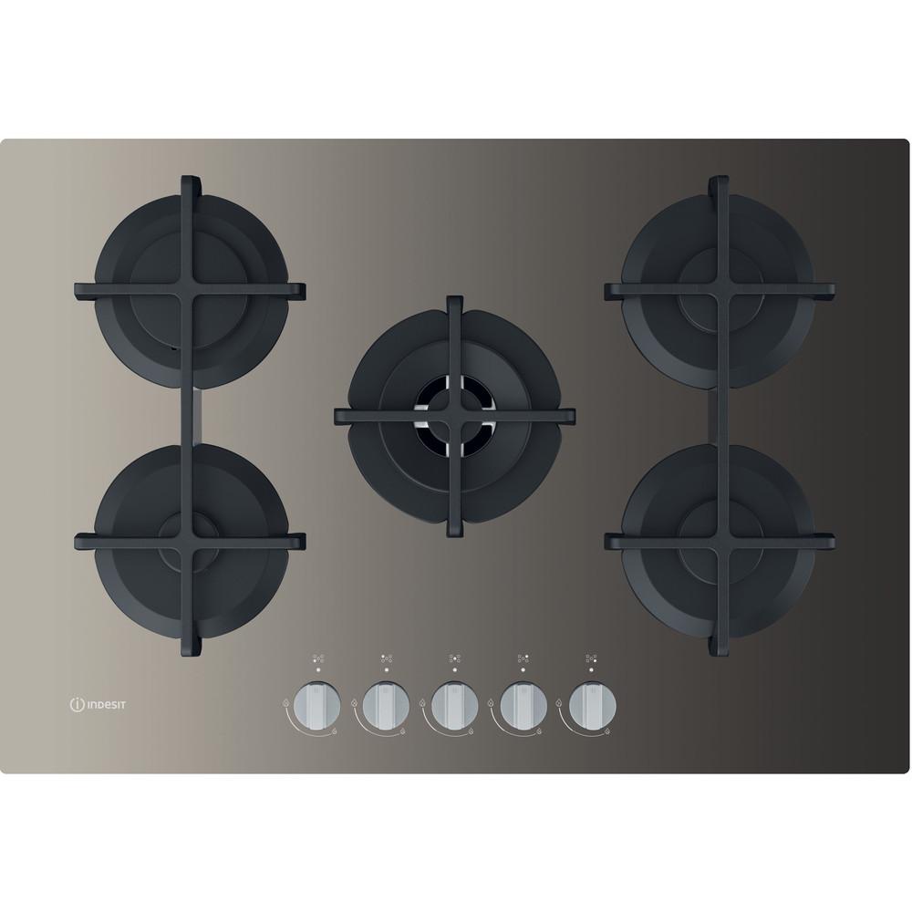 Indesit Piano cottura ING 72T/TD Tortora GAS Frontal