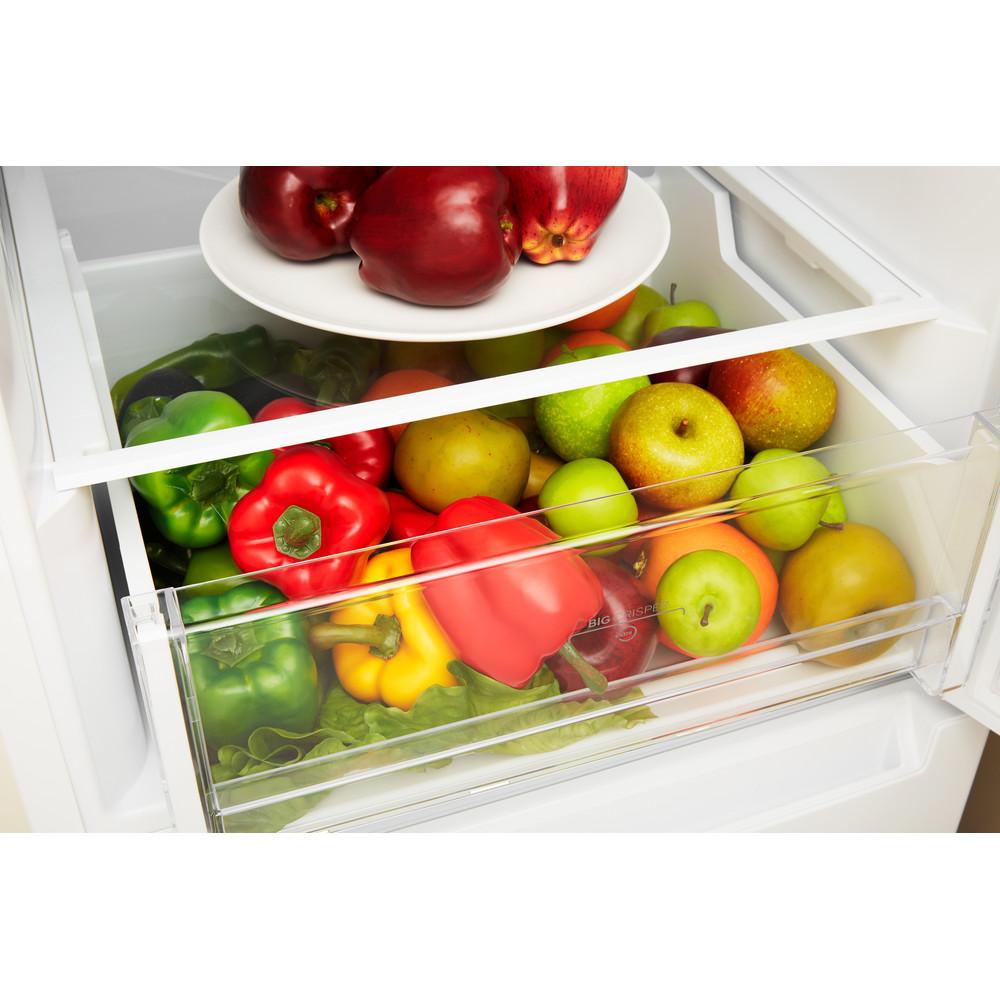 Indesit Холодильник с морозильной камерой Отдельно стоящий LR6 S1 W Белый 2 doors Drawer