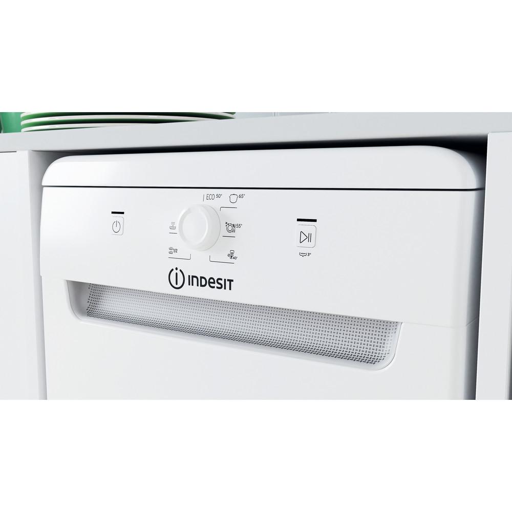 Indesit Trauku mazgājamā mašīna Brīvi stāvošs DSFE 1B10 Brīvi stāvošs A+ Lifestyle control panel