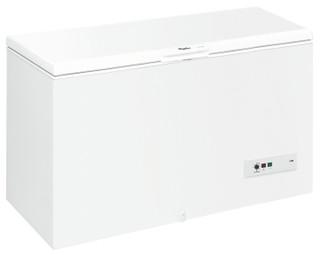 Congélateur coffre posable Whirlpool: couleur blanche - CF610