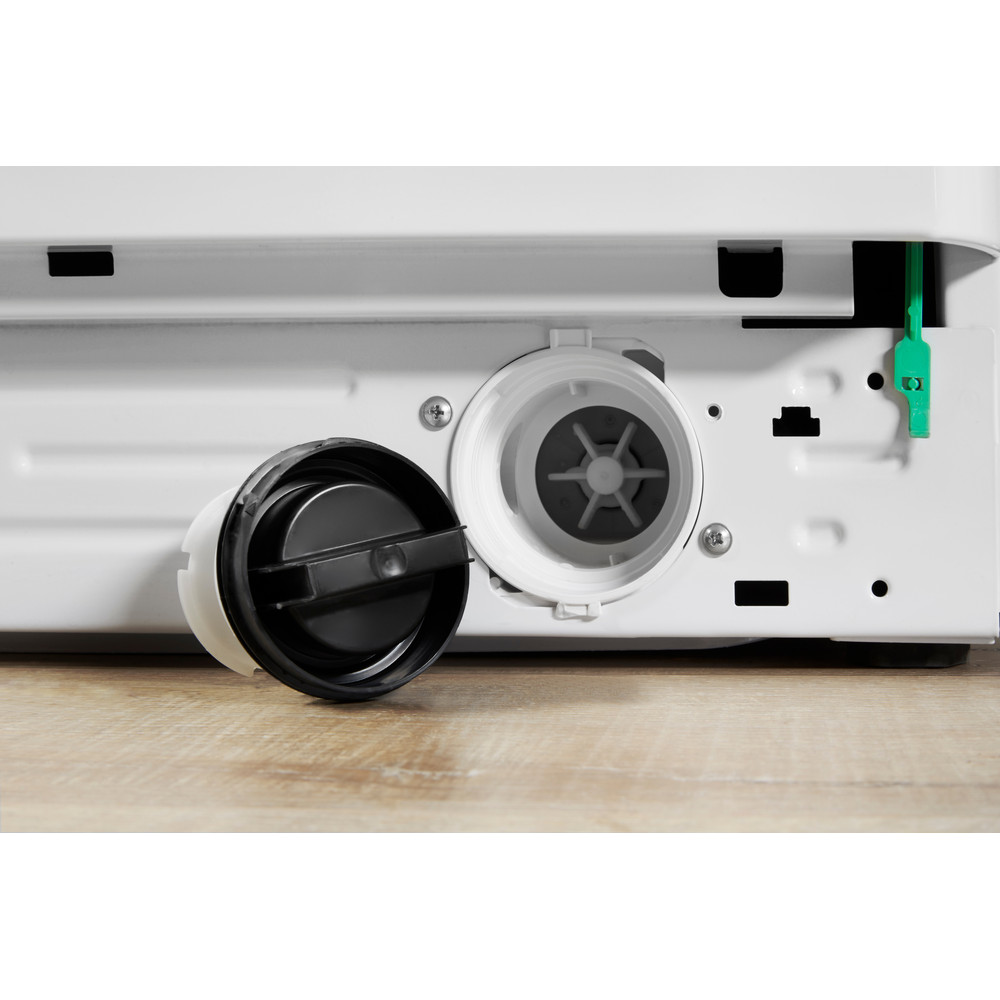 Indesit Прально-сушильна машина Соло XWDA 751680X W EU Білий Front loader Filter