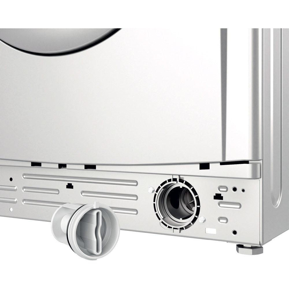 Indesit Washer dryer Free-standing IWDC 65125 S UK N Silver Front loader Filter