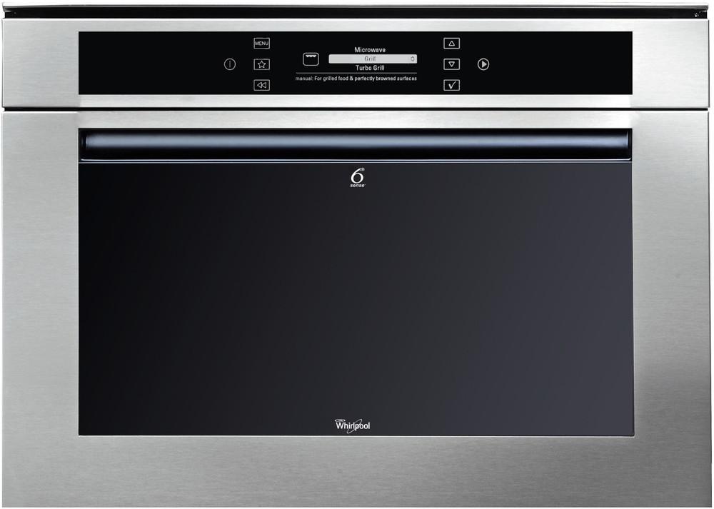 Whirlpool Microwave مدمج AMW 850/IXL Stainless steel إلكتروني 40 مايكرويف - مزيج 900 Frontal
