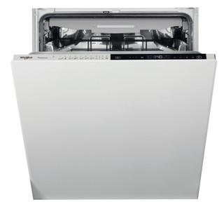 Whirlpool beépíthető mosogatógép: Inox szín, normál méretű - WCIP 4O41 PFE