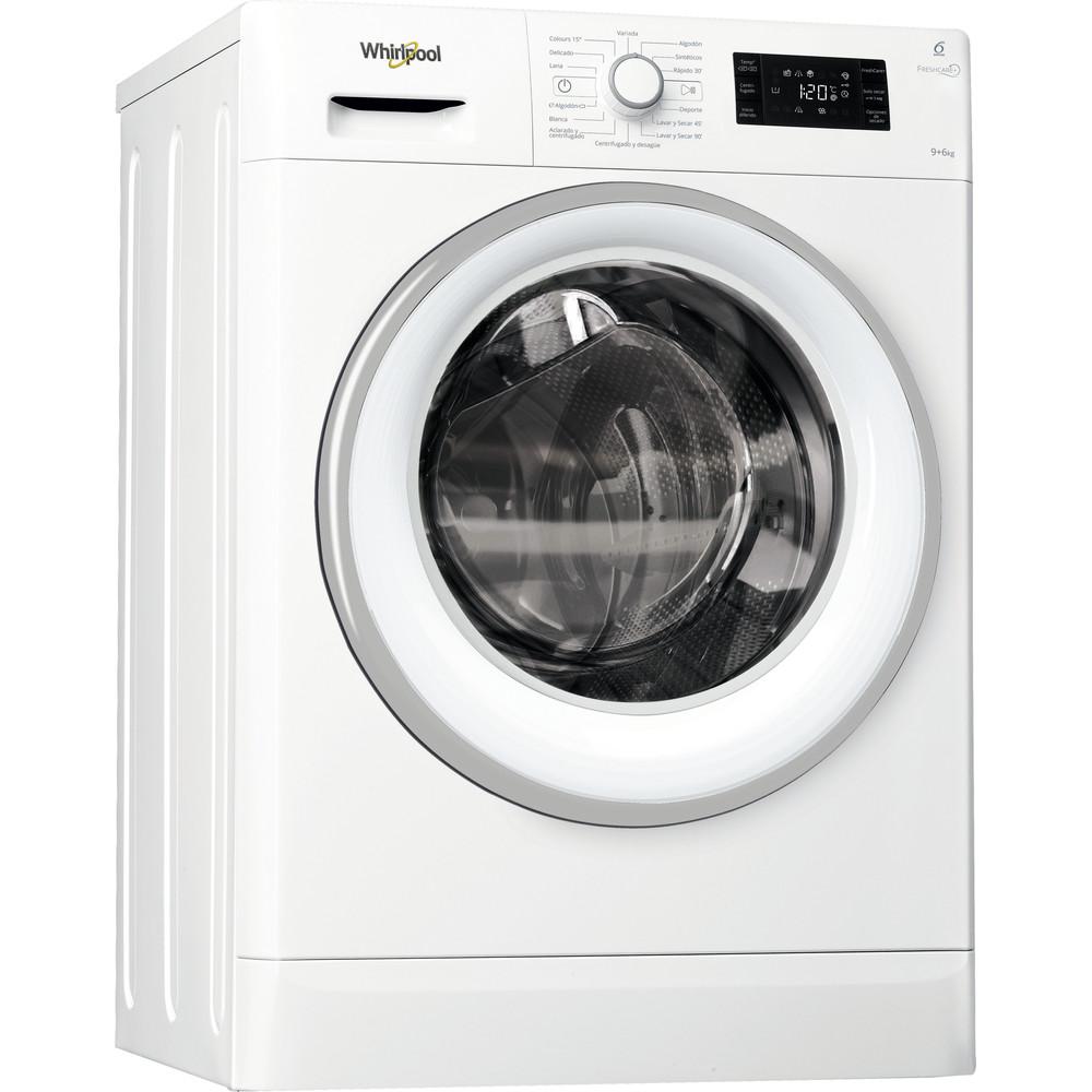 Lavasecadora carga frontal Whirlpool 9kg / 6kg Clase A FWDG96148W SP – FreshCare+