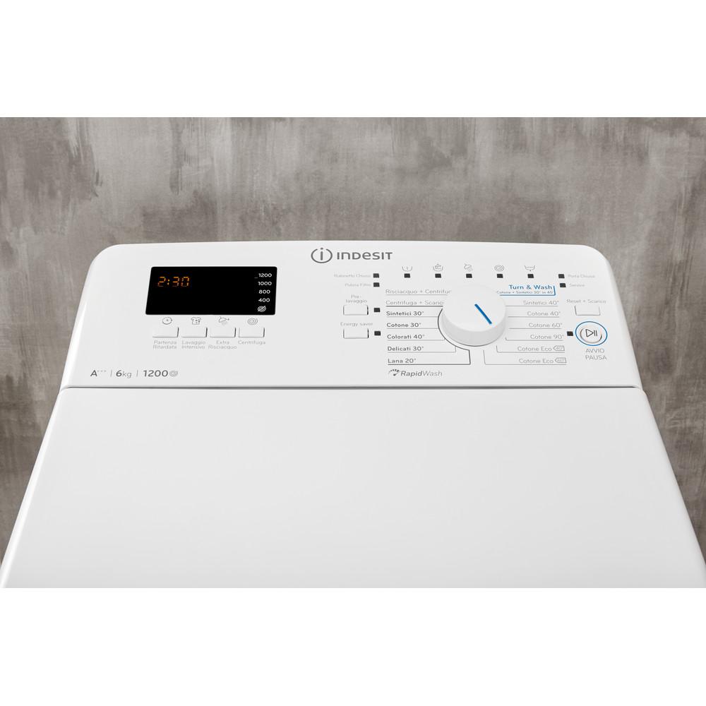 Lavatrice a libera installazione Indesit BTW D61253P (IT) | Indesit IT