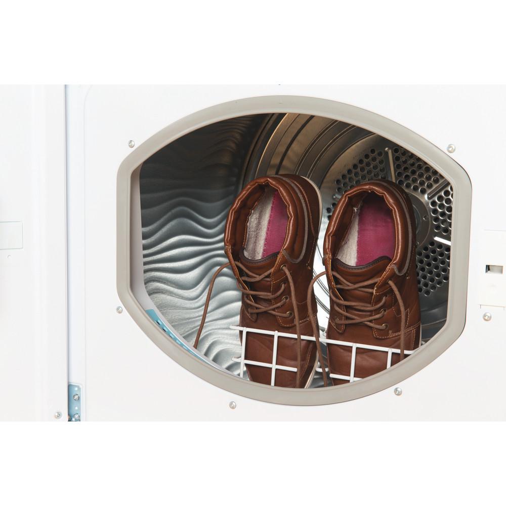 Indesit Dryer IDCE 8450 B H (UK) White Drum