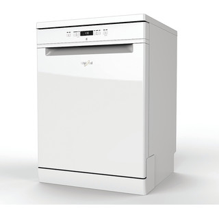 Whirlpool Dishwasher Free-standing WFC 3B19 UK Free-standing A+ Perspective