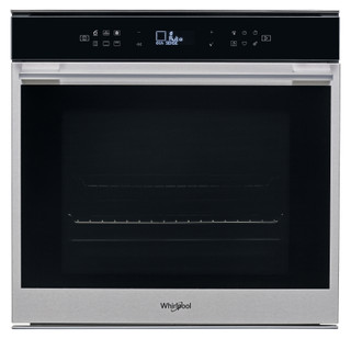 Whirlpool built -in electric oven: inox colour, self cleaning - W7 OM4 4BS1 H