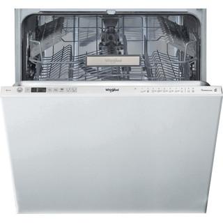 Whirlpool integrert oppvaskmaskin: farge stål, 60 cm - WIO 3T332 P