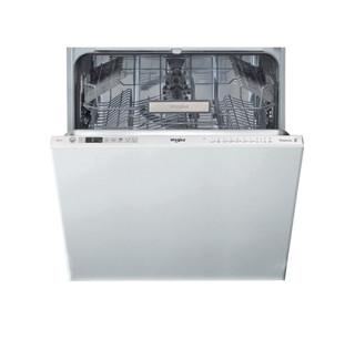 Съдомиялна за вграждане Whirlpool: цвят инокс, пълен размер - WIO 3T332 P