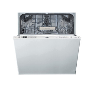 Integreret Whirlpool-opvaskemaskine: inox-farve, fuld størrelse - WIO 3T332 P