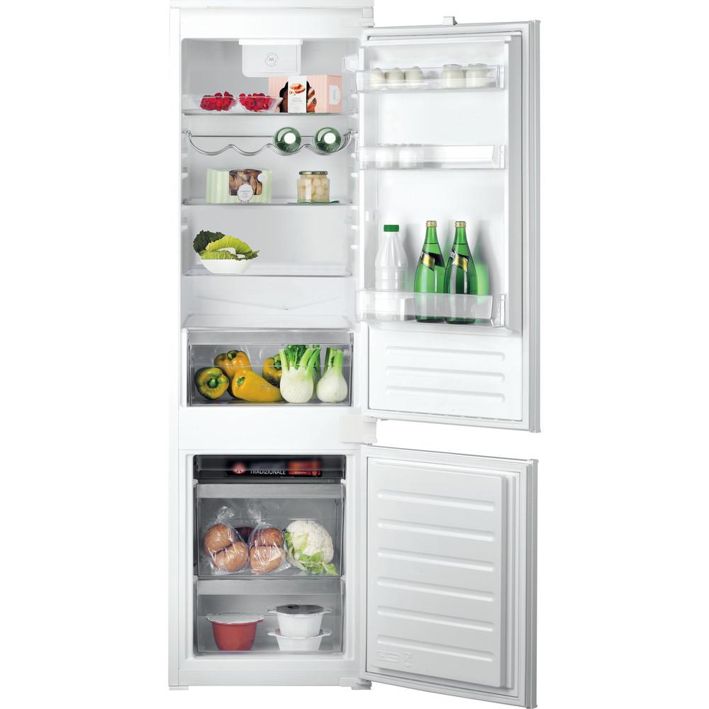 Hotpoint_Ariston Combinazione Frigorifero/Congelatore Da incasso BCB 7525 D2 Bianco 2 porte Frontal open