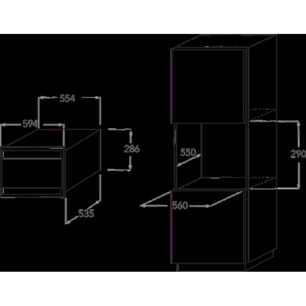 KitchenAid 29cm Built-in Vacuum Machine KVXXX29600