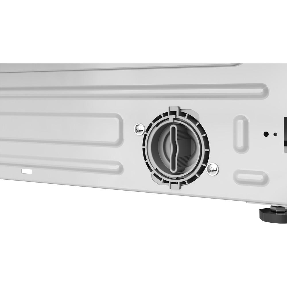 Indesit Washer dryer Built-in BI WDIL 861284 UK White Front loader Filter