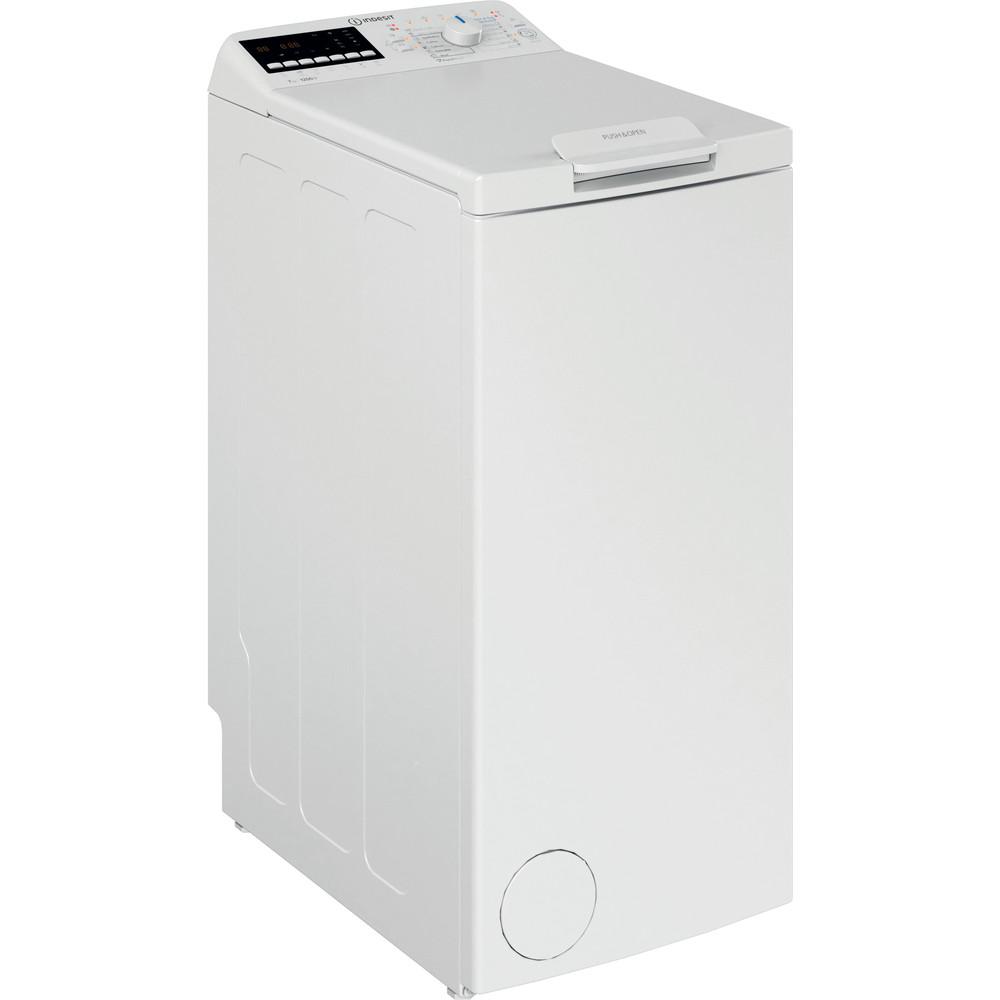 Indesit Πλυντήριο ρούχων Ελεύθερο BTW B7220P EU/N Λευκό Top loader A+++ Perspective