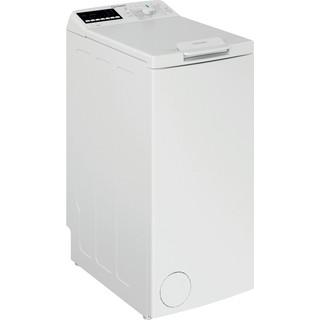 Indsit Maşină de spălat rufe Independent BTW B7220P EU/N Alb Încărcare Verticală E Perspective