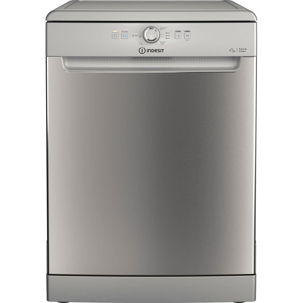 Indesit Dishwasher Free-standing DFE 1B19 X UK Free-standing F Frontal