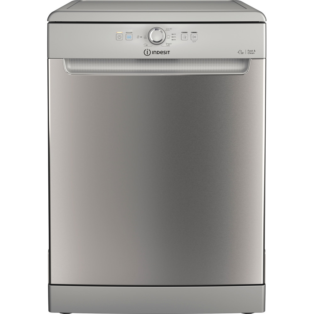 Indesit Dishwasher Free-standing DFE 1B19 X UK Free-standing F Frontal
