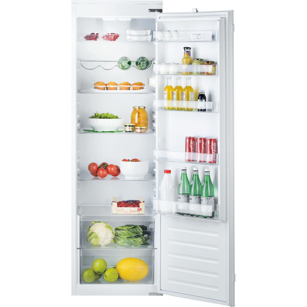 Hotpoint Refrigerator Built-in HS 1801 AA.UK White Frontal_Open