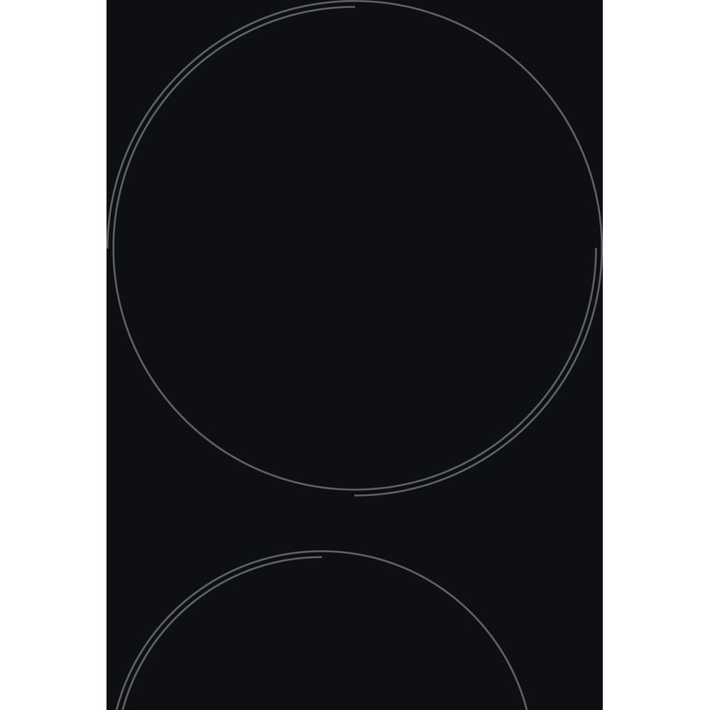 Indesit Μονάδα εστιών AAR 160 C Μαύρο Radiant vitroceramic Heating element