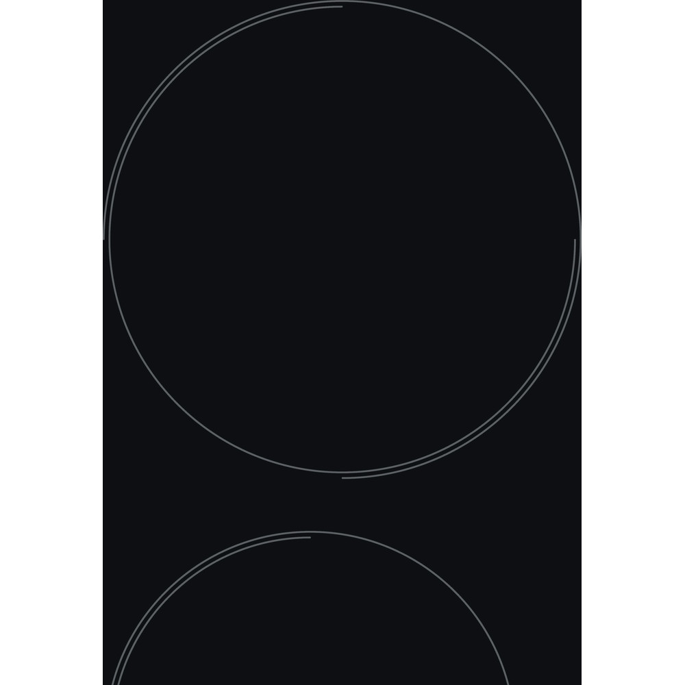 Indesit HOB AAR 160 C Black Radiant vitroceramic Heating element