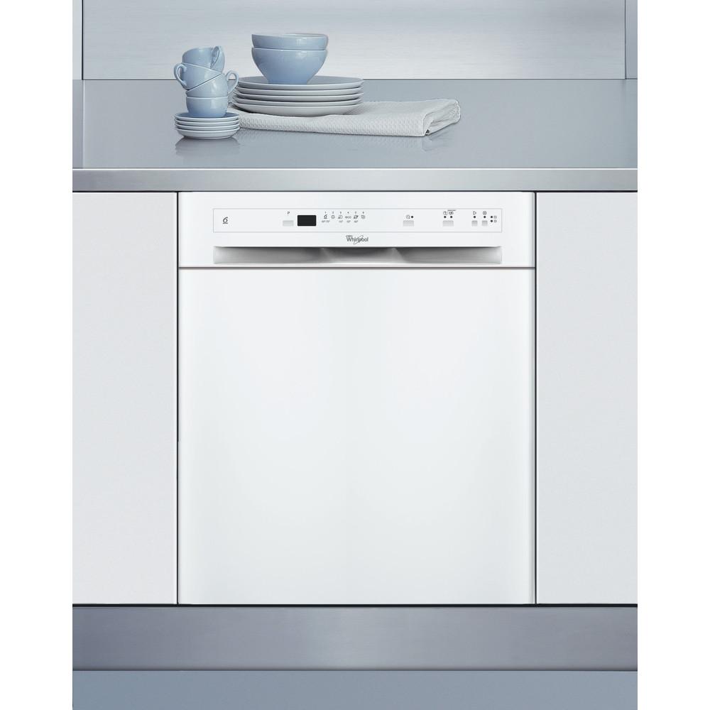 Whirlpool diskmaskin: färg vit, 60 cm - ADPU 7453 WH