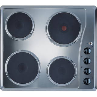 Indesit HOB TI 60 X Inox Solid Plate Frontal