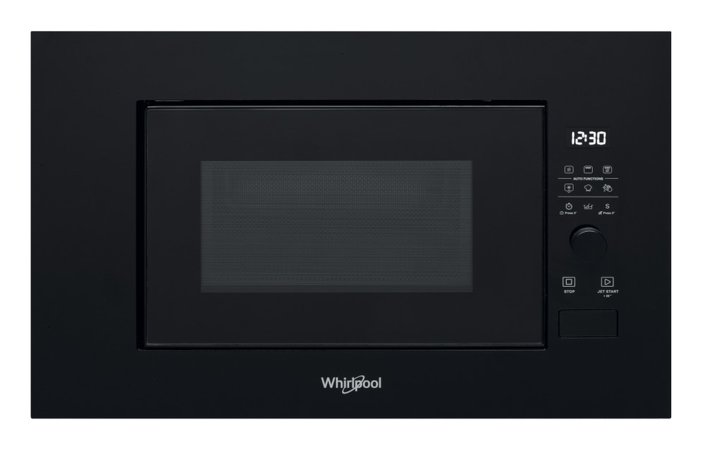 Whirlpool Mikrolaineahi Integreeritav WMF200G NB Must Elektrooniline 20 Mikrolained+grill 800 Frontal