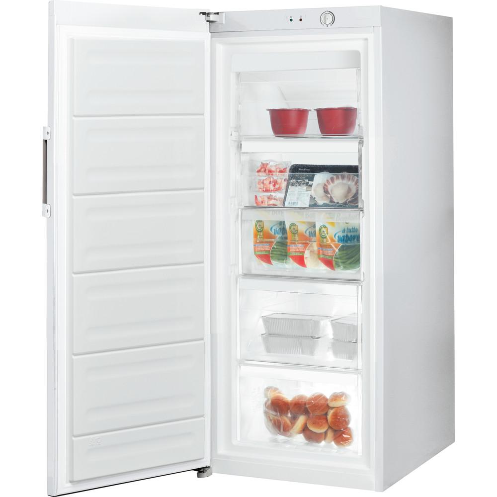 Indesit Congelador Livre Instalação UI4 1 W.1 Branco global Perspective open