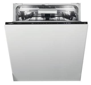 Whirlpool beépíthető mosogatógép: fekete szín., normál méretű - WIF 5O41 PLEGTS