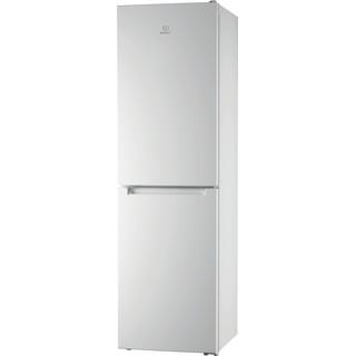 Indesit Combinación de frigorífico / congelador Libre instalación XI9 T2I W Blanco 2 doors Perspective