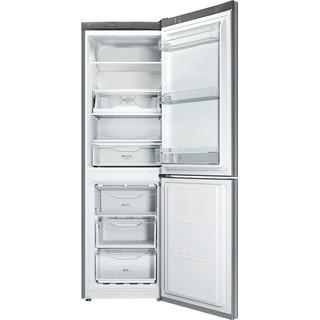 Indesit Комбиниран хладилник с камера Свободностоящи LI8 FF2 X.1 Инокс 2 врати Frontal open