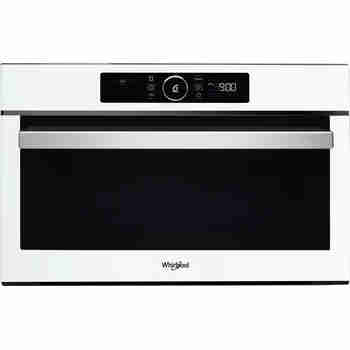 Whirlpool Four micro-ondes Encastrable AMW 730/WH Blanc Electronique 31 Micro-ondes + gril 1000 Frontal