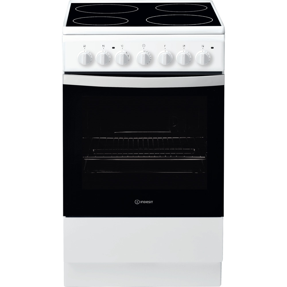 """""""Indesit"""" Viryklė IS5V4PHW/E Balta Electrical Frontal"""