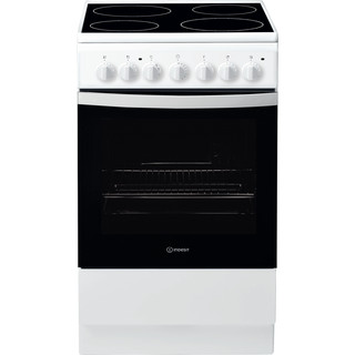 Indesit Готварска печка IS5V4PHW/E Бял Electrical Frontal