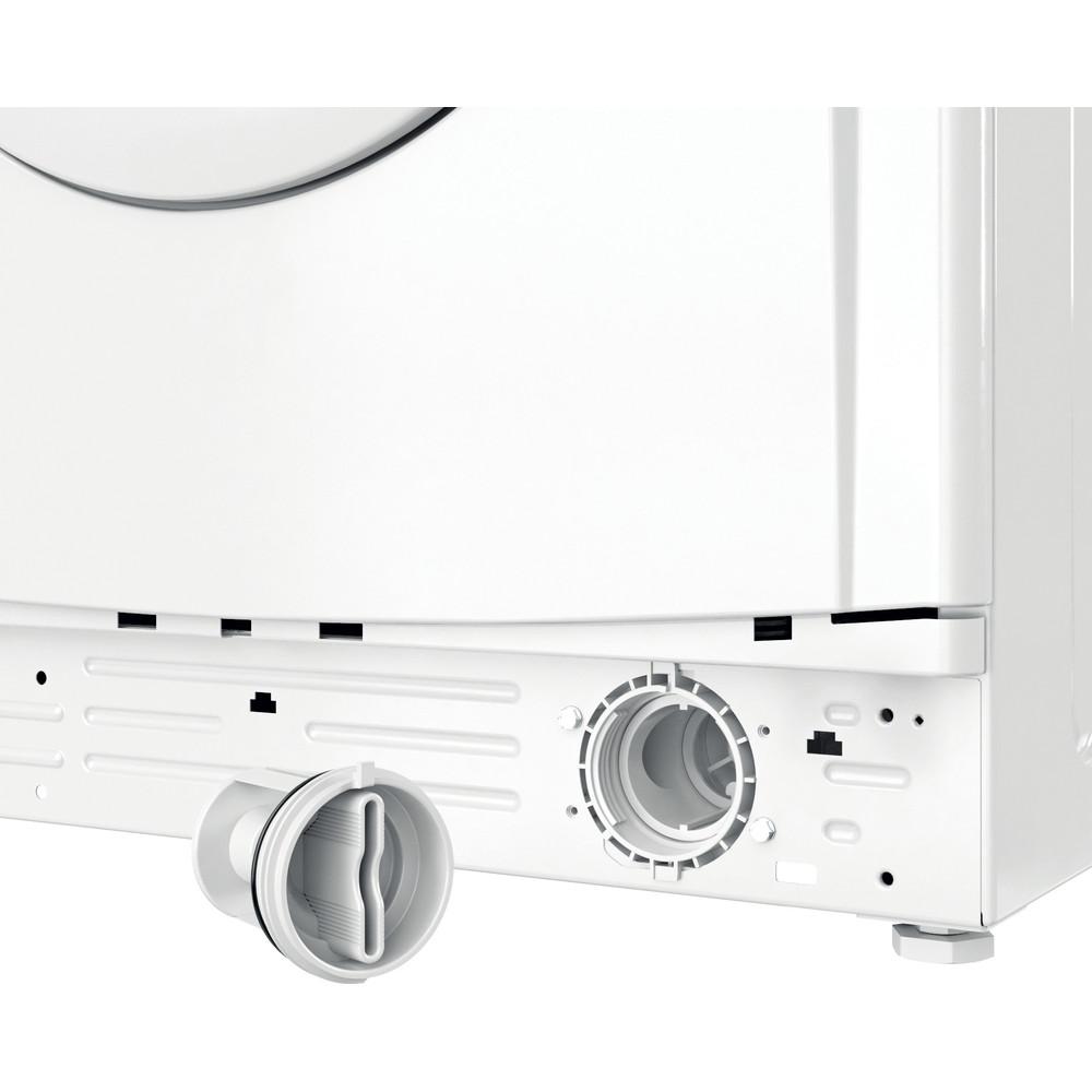 Indesit Waschmaschine Freistehend EWSE 61251 W DE N Weiß Frontlader F Filter