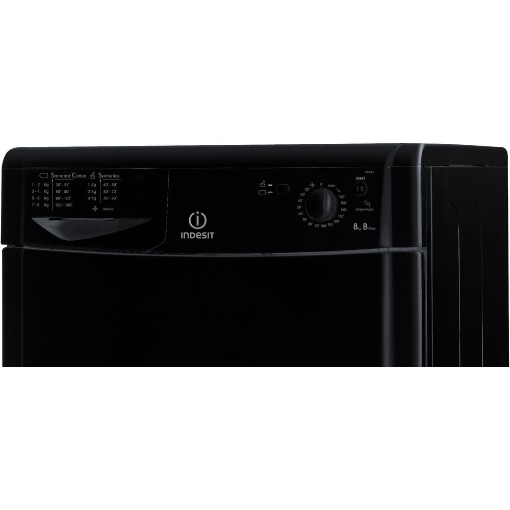 Indesit Dryer IDC 8T3 B K (UK) Black Control_Panel