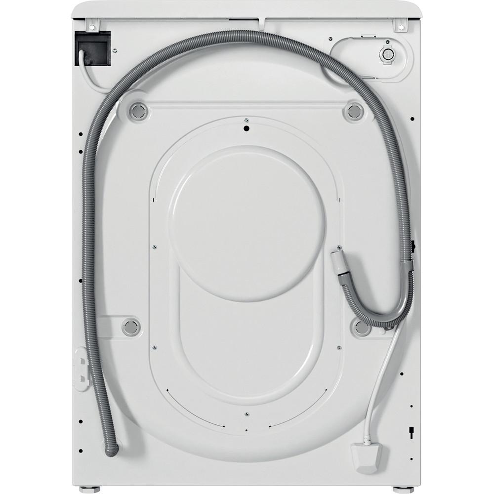 Indesit Lavasciugabiancheria A libera installazione BDE 1071482X WK IT N Bianco Carica frontale Back / Lateral