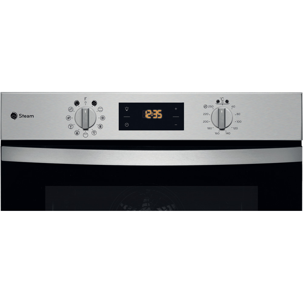 Indesit OVEN Built-in KFWS 3844 H IX UK Electric A+ Control panel