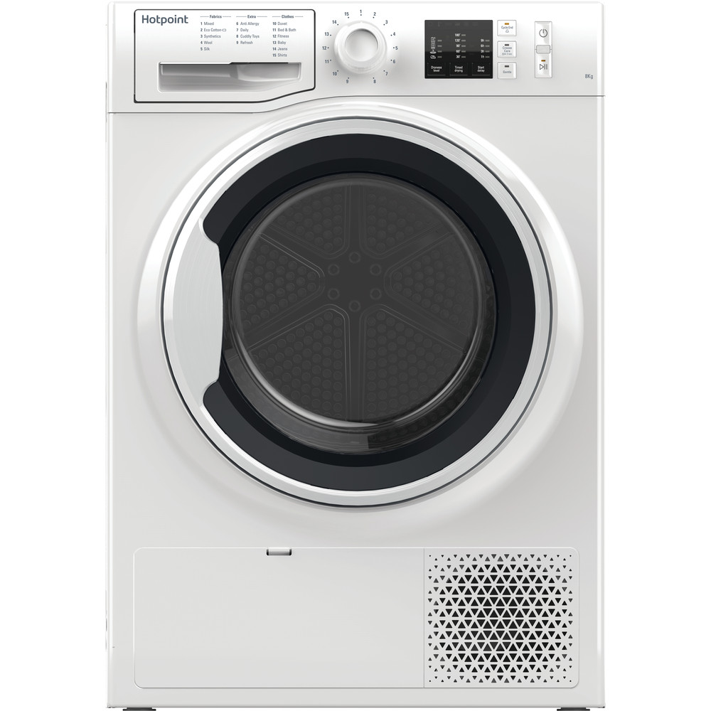 Hotpoint Dryer NT M10 81WK UK White Frontal
