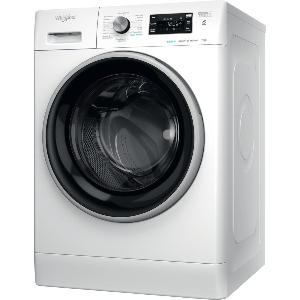 Whirlpool vrijstaande wasmachine: 7 kg - FFB 7448 BSEV NL
