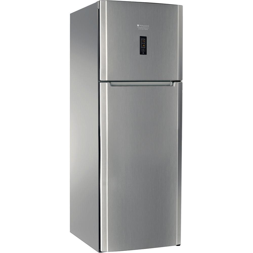 Hotpoint_Ariston Combinație frigider-congelator Neincorporabil ENXTY 19222 X FW 1 Inox Look 2 doors Perspective