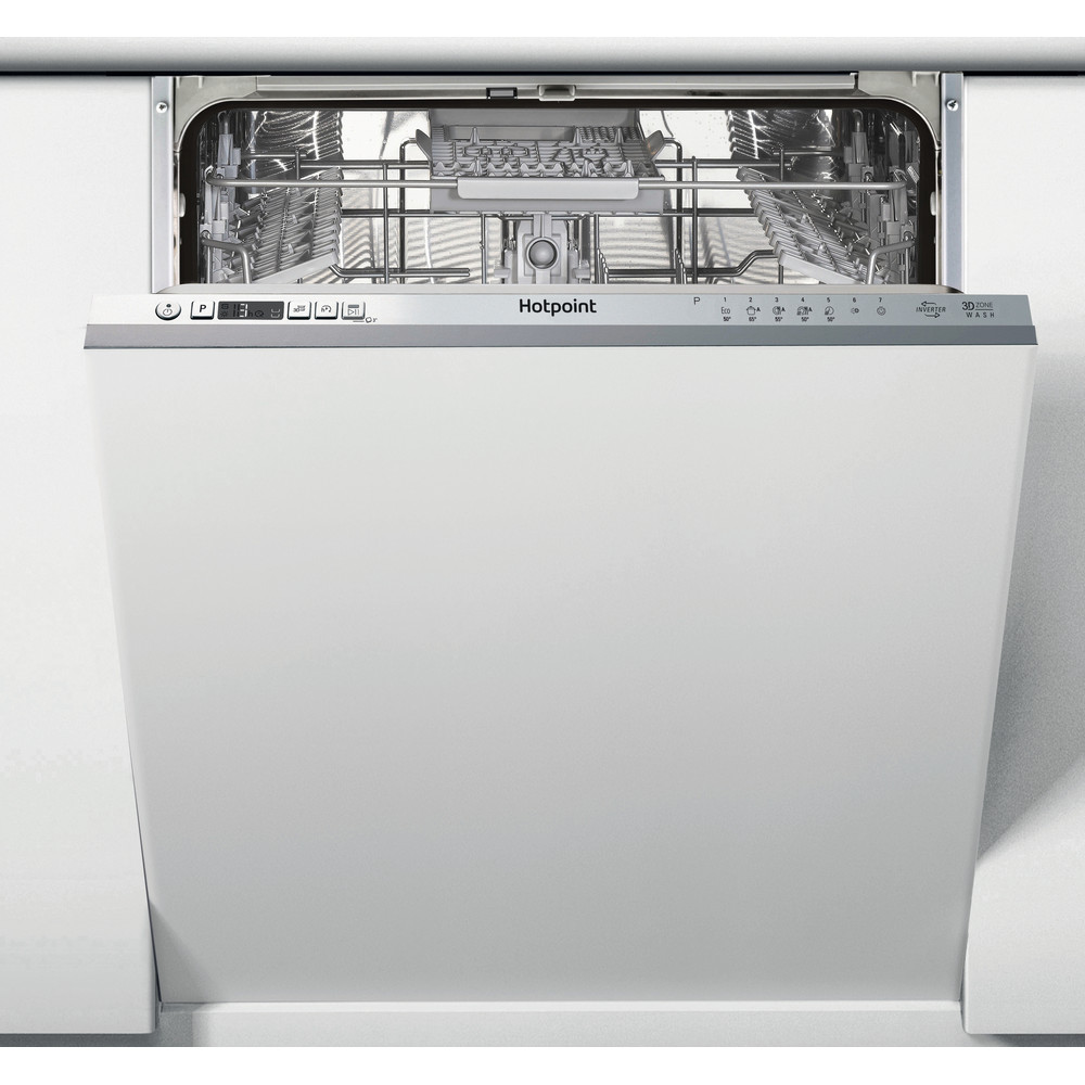 Hotpoint Dishwasher Built-in HDIC 3B+26 C W UK Full-integrated A Frontal