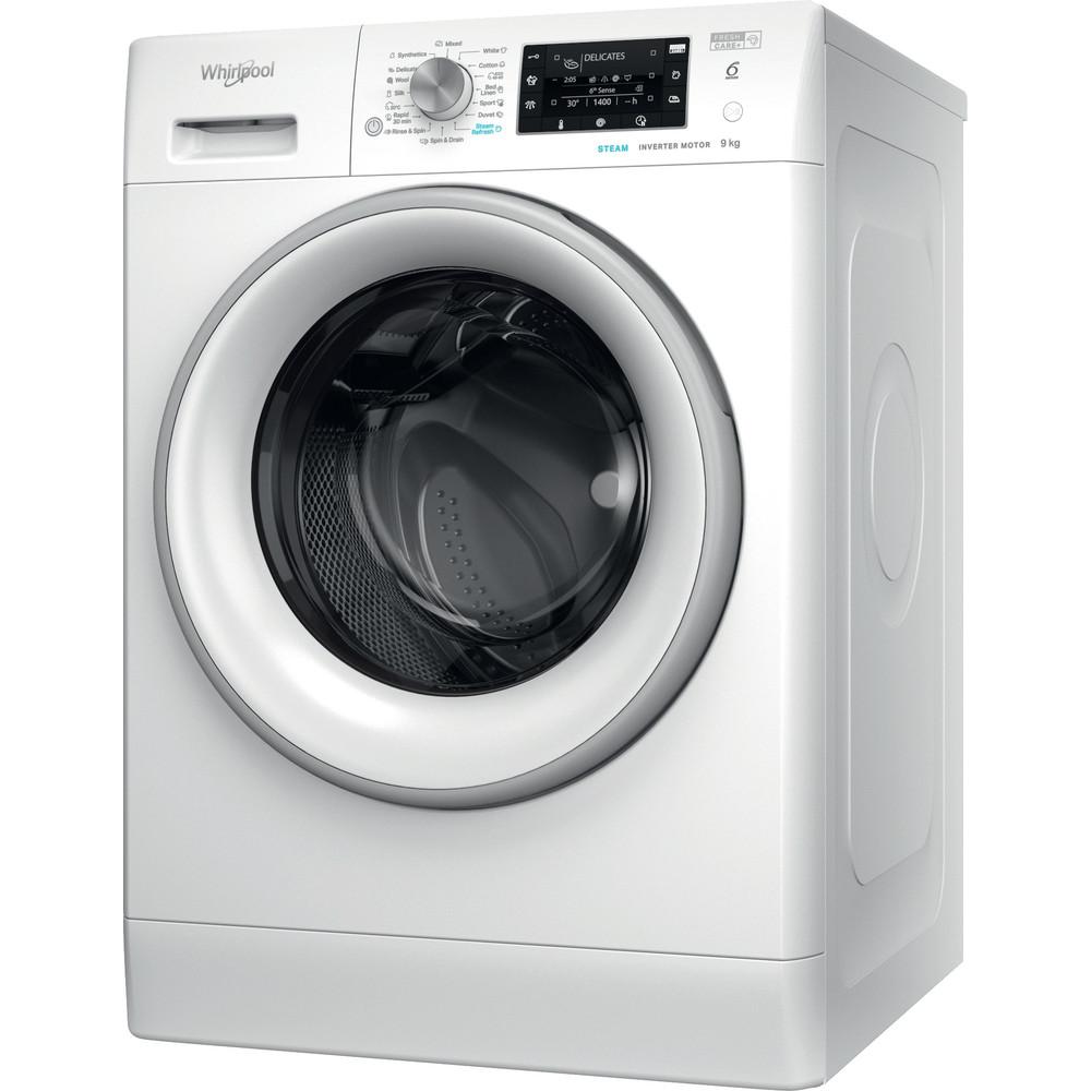 Whirlpool frontmatet vaskemaskin: 9,0 kg - FFD 9638 SV EU