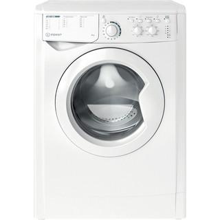 Indesit Перална машина Свободностоящи EWSC 61251 W EU N Бял Предно зареждане A+++ Frontal