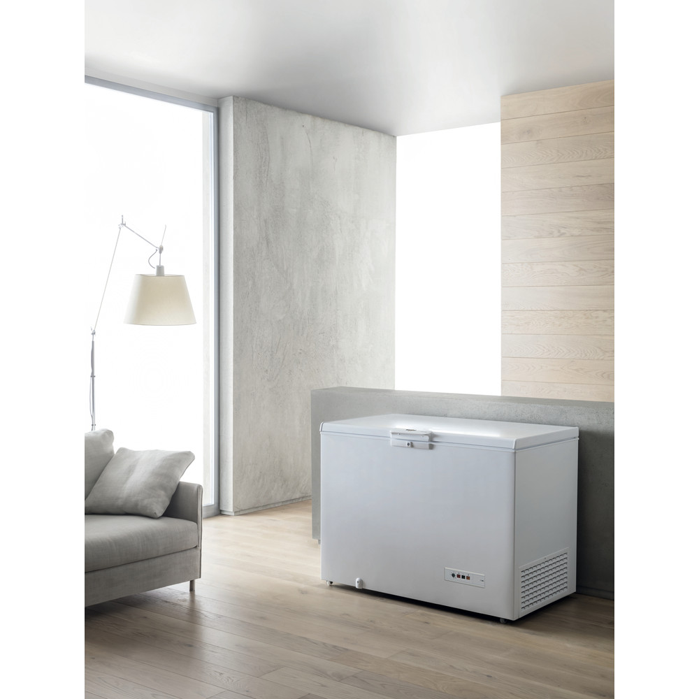 Whirlpool frysbox: färg vit - WHE2533
