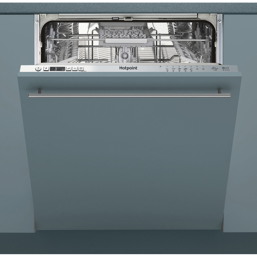 Hotpoint Dishwasher Built-in HIC 3C33 CWE UK Full-integrated A++ Frontal