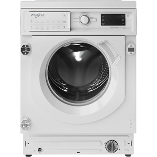 Whirlpool built in front loading washing machine: Whirlpool built in washing machine, 9kg - BI WMWG 91484 UK