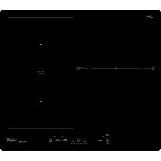 Placa de inducción Whirlpool ACM 825/NE/IXL con 3 zonas de cocción